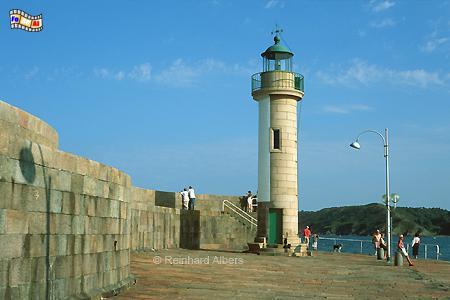 Binic in der Bretagne, Leuchtturm, Frankreich, Bretagne, Binic