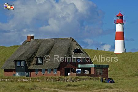 Ellenbogen (Ost), Insel Sylt, Leuchtturm, Deutschland, Schleswig-Holstein, Nordseeküste, Insel Sylt, Sylt, Ellenbogen