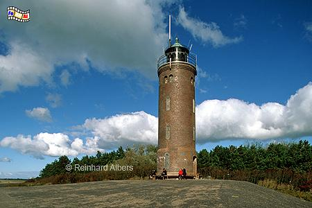 St. Peter-Ording, Ortsteil Böhl., Leuchtturm, Deutschland, Schleswig-Holstein, Nordseeküste, St. Peter-Ording, Böhl