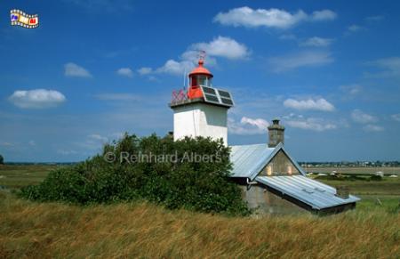 Pointe d Agon in der Normandie, Leuchtturm, Frankreich, Normandie, Pointe d Agon