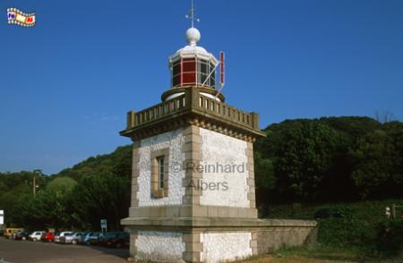 Honfleur in der Normandie, Leuchtturm, Frankreich, Normandie, Honfleur