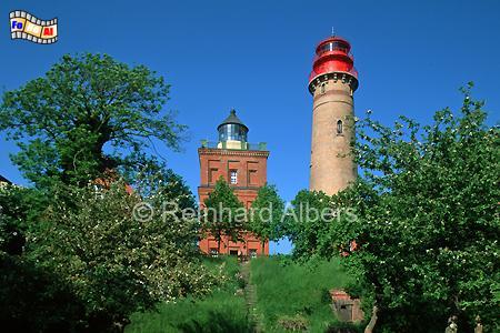 Kap Arkona auf Rügen., Leuchtturm, Deutschland, Mecklenburg-Vorpommern, Rügen, Kap Arkona