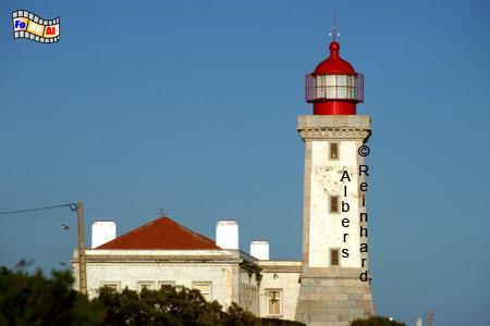 Alfanzina östlich von Carvoeiro in der Algarve, Leuchtturm, Portugal, Algarve, Carvoeiro, Alfanzina, Albers, foreal, Foto,