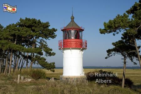 Leuchtturm Gellen südlich von Neuendorf auf der Insel Hiddensee., Leuchtturm, Mecklenburg-Vorpommern, Ostseeküste, Insel Hiddensee, Hiddensee, Gellen