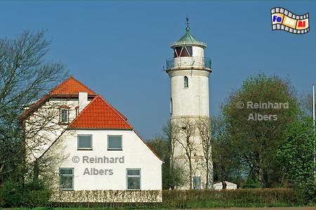 Nordborg - Im Norden der dänischen Insel Als (Alsen) steht dieser Leuchtturm bei der Ortschaft Augustenhof., Dänemark, Leuchtturm, Lighthouse, Phare, Albers, Foto, foreal, Insel, Alsen, Als, Augustenhof