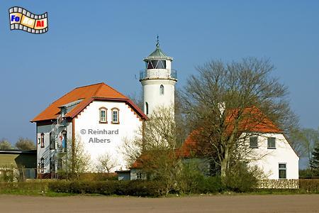 Nordborg - Im Norden der dänischen Insel Als (Alsen) steht dieser Leuchtturm bei der Ortschaft Augustenhof., Leuchtturm, Nordborg, Lighthouse, Phare, Dänemark Insel Alsen, Als, Augustenhof, Albers, foreal, Foto,
