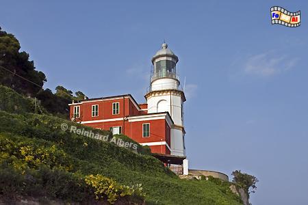 Capo Mele an der italienischen Riveira, Leuchtturm, Italien, Foto, Albers, foreal, Capo, Mele