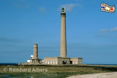 Gatteville in der Normandie im Nordosten der Halbinsel Cotentin., Leuchtturm, Frankreich, Normandie, Gatteville, Cotentin