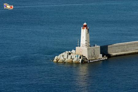 Nizza an der Côte d Azur., Leuchtturm, Frankreich, Côte, Azur, Nizza