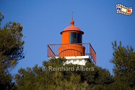Pointe de Baumette an der  Côte d Azur., Leuchtturm, Frankreich, Côte, Azur Pointe, Baumette