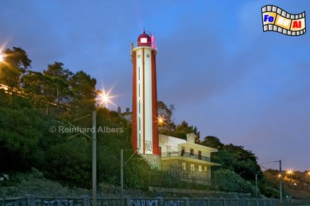 Portugal - Oeiras an der Tejomündung bei Lissabon, Portugal, Lissabon, Tejo, Oeiras, Leuchtturm, Albers, foreal, Foto