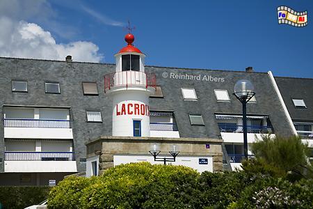 Concarneau - Leuchtturm Lacroix, Leuchtturm, Frankreich, Bretagne, Concarneau, Lacroix