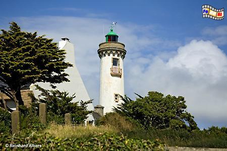 Bretagne: Port-Navalo, Leuchtturm, Lighthouse, Phare, Frankreich, Bretagne, Port-Navalo, Albers, foreal, Foto