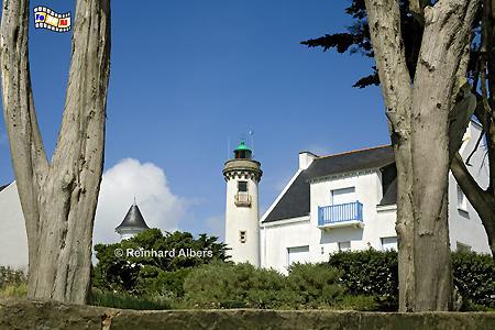 Bretagne: Port-Navalo, Leuchtturm, Frankreich, Bretagne, Port-Navalo, Albers, foreal, Foto