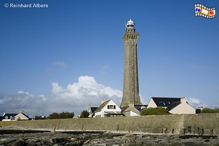 Phare d Eckmühl in der Bretagne an der Pointe de Penmarch., Bretagne, Leuchtturm, Phare, Pointe, Penmarch, Eckmühl, foreal