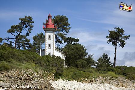 Bretagne - Pointe de Combrit, Leuchtturm, Frankreich, Bretagne, Pointe, Combrit, Odet, Albers, foreal, Foto