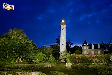 Bretagne - Bénodet, Leuchtturm, Frankreich, Bretagne, Bénodet, foreal, Albers, Foto