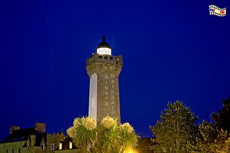 Bretagne - Roscoff, Leuchtturm, Frankreich, Bretagne, Roscoff, Foto, foreal, Albers