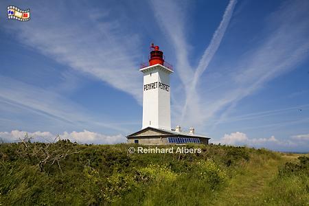 Bretagne - Île de Penfret gehört zur Gruppe der Îles de Glénan., Leuchtturm, Frankreich, Bretagne, Penfret, Glénan, Albers, foreal, Foto