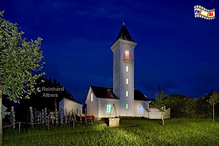 Bretagne - Der Leuchtturm von Tréhiguier gehört heute zur Gemeinde Pénestin., Leuchtturm, Frankreich, Bretagne, Tréhiguier, Albers, foreal, Foto