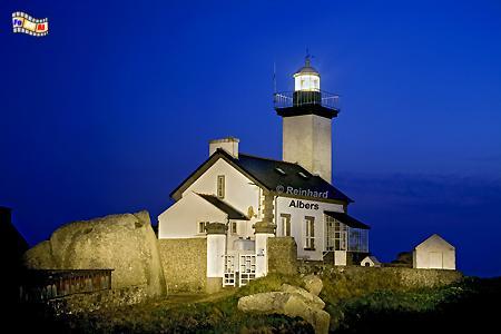 Bretagne - Pointe de Pontusval, Leuchtturm, Bretagne, La Lande, Phare, Albers, Foto, foreal,