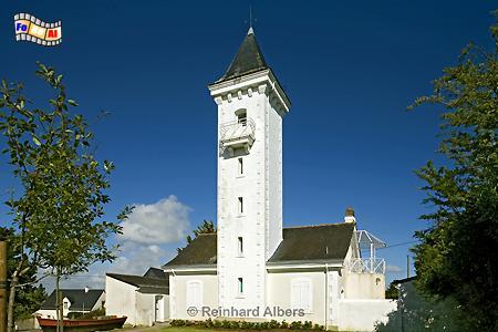 Bretagne - Tréhiguier, Leuchtturm, Bretagne, Frankreich, Tréhiguier, Pénestin