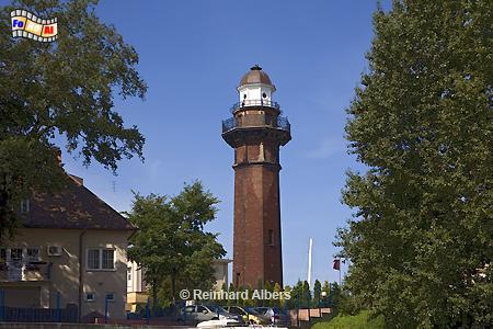 Polen - Gdańsk Nowy Port (Danzig Neufahrwasser), Leuchtturm, Polen, Gdańsk, Danzig, Neufahrwasser, Gdańsk, Nowy Port, Albers foreal, Foto