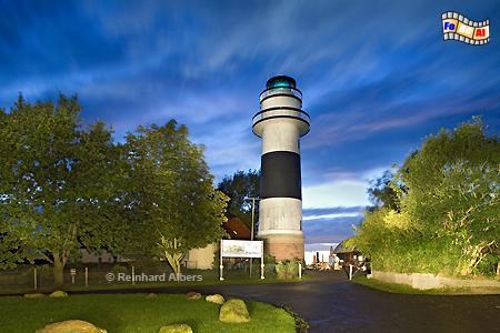 Bülk an der Westseite der Kieler Förde, Leuchtturm, Schleswig-Holstein, Kiel, Bülk