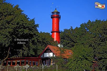Polen - Der Leuchtturm von Rozewie (Rixhöft) markiert den nördlichsten Punkt Polens., Leuchtturm, Polen, Polska, Rozewie, Rixhöft, Albers, foreal, Foto
