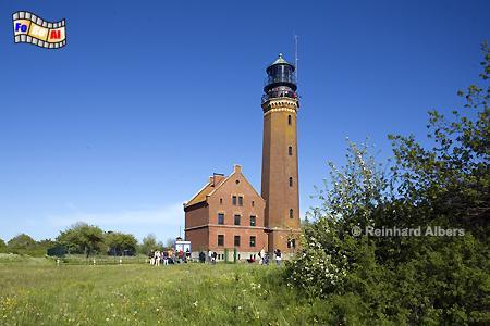 Mecklenburg-Vorpommern: Greifswalder Oie, Leuchtturm, Deutschland, Mecklenburg-Vorpommern, Greifwalder Oie, Albers, foreal, Foto
