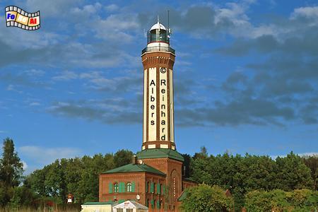 Niechorze (Großhorst) an der Ostseeküste in Polen., Leuchtturm, Polen, Latarnia, Pommern, Ostseeküste, Niechorze, Groß-Horst, Albers, Foto, foreal,