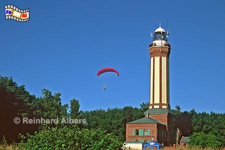 Polen - Niechorze (Großhorst), Leuchtturm, Polen, Pommern, Ostseeküste, Niechorze, Groß-Horst, Albers, Foto, foreal
