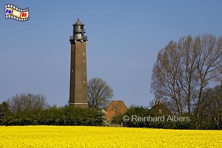Schleswig-Holstein - Der Leuchtturm von Neuland bei Behrensdorf an der Ostseeküste ist bereits stillgelegt., Leuchtturm, Schleswig-Holstein, Ostseeküste, Neuland, Behrensdorf, Albers, froeal, Foto