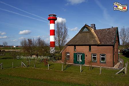 Richtfeuer Scheelenkuhlen bei Sankt Margarethen an der Elbe, Leuchtturm, Lighthouse, Elbe, S