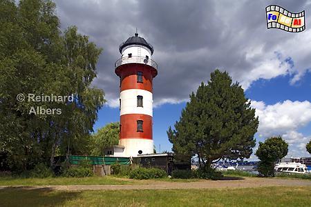 Brinkamahof bei Bremerhaven, Leuchtturm, Lighthouse, Deutschland, Bremerhaven, Brinkamahof, foreal, Albers,