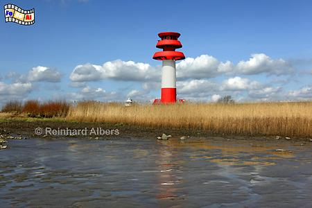 Hollerwettern an der Elbe, Leuchtturm, Lighthouse, Hollerwettern, Albers, foreal
