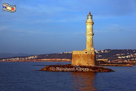 Kreta Chania, Leuchtturm, Lighthouse, Kreta, Chania, foreal, Albers,