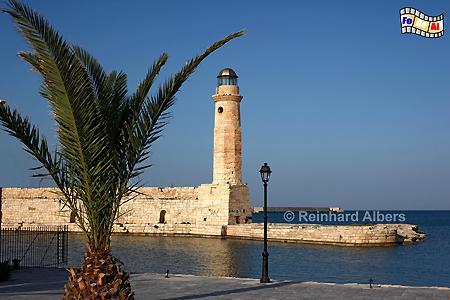Kreta - Rethimnon, Leuchtturm, Lighthouse, Kreta, Rethimnon, foreal, Albers