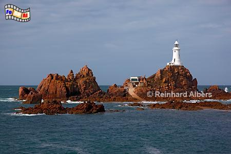 Jersey - La Corbière, Leuchtturm, Lighthouse, Phare, Corbière, Jersey, Kanalinsel, foreal, Albers, Foto,