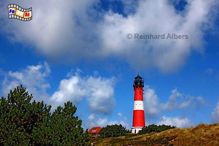 Insel Sylt Leuchtturm von Hörnum, Leuchtturm, Lighthouse, Phare, Sylt, Hörnum, foreal, Albers, Foto,