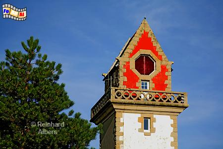 Phare de la Haize in Paramé bei Saint-Malo in der Bretagne., Leuchtturm, Phare, Lighthouse, Paramé, Bretagne, Haize, Foto, foreal, Albers,