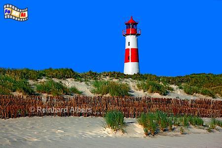 Leuchtturm List Ost - Ellenbogen auf der Insel Sylt, Leuchtturm, Lighthouse, Ellenbogen, Sylt, List, Ost, foreal, Albers