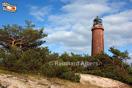 Darßer Ort in Mecklenburg-Vorpommern., Leuchtturm. Lighthouse, Phare, Darß, Vorpommern, foreal, Albers, Foto,