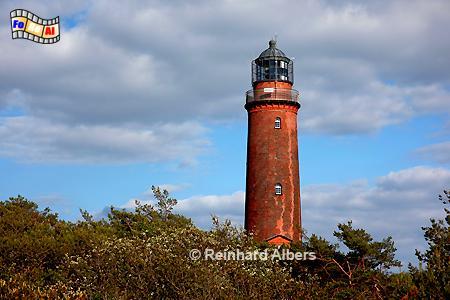 Darßer Ort, Leuchtturm. Lighthouse, Phare, Darß, Vorpommern, foreal, Albers, Foto,