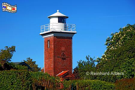 Strandhusen bei Heiligenhafen in Ostholstein., Leuchtturm, Deutschland, Schleswig-Holstein, Ostseeküste, Strandhusen, foreal, Albers, Foto, Ostseeküste,