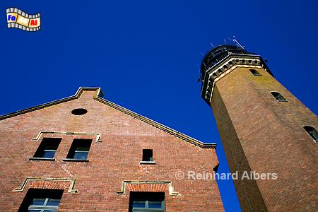 Greifswalder Oie in Mecklenburg-Vorpommern, Lighthouse, Phare, Farol, Leuchtturm, Deutschland, Mecklenburg-Vorpommern, Greifwalder Oie, Albers, foreal, Foto