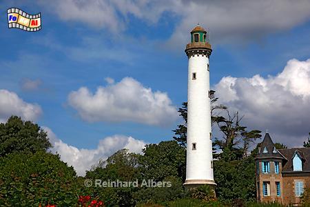 Bénodet - Bretagne, Leuchtturm, Bretagne, Frankreich, Bénodet, Albers, foreal, Foto, Phare