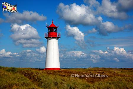 Insel Sylt - Ellenbogen Leuchtturm List West, Leuchtturm, Lighthouse, Ellenbogen, Sylt, List West, foreal, Albers