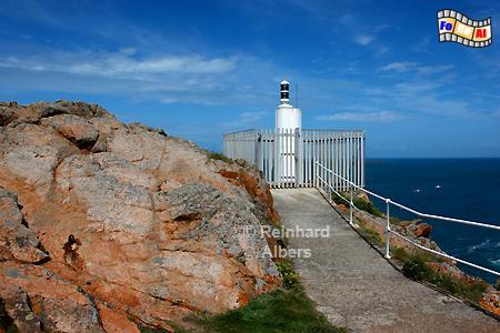 Kanalinsel Jersey - Grosnez Point, Leuchtturm, Lighthouse, Phare, Grosnez, Point, Jersey, Kanalinsel, foreal, Albers, Foto,