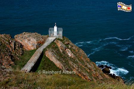 Grosnez Point auf der Insel Jersey., Leuchtturm, Lighthouse, Phare, Grosnez, Point, Jersey, Kanalinsel, foreal, Albers, Foto,